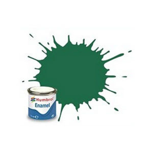 Humbrol 30 Matt Dark Green 14ml Enamel Tinlet