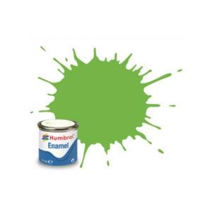 Humbrol 38 Gloss Lime 14ml Enamel Tinlet