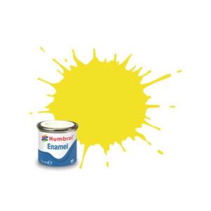 Humbrol 69 Gloss Yellow 14ml Enamel Tinlet