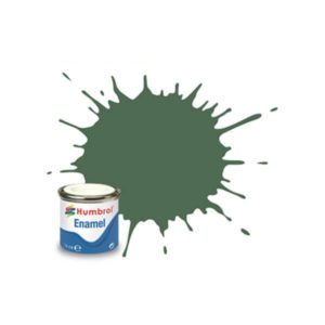 Humbrol 76 Matt Uniform Green 14ml Enamel Tinlet