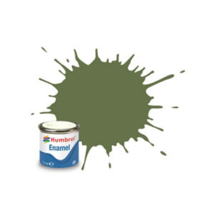 Humbrol 80 Matt Grass Green 14ml Enamel Tinlet
