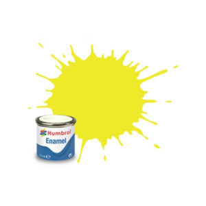 Humbrol 99 Matt Lemon Yellow 14ml Enamel Tinlet
