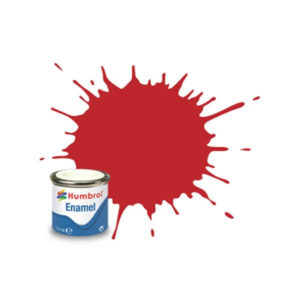Humbrol 220 Gloss Italian Red 14ml Enamel Tinlet