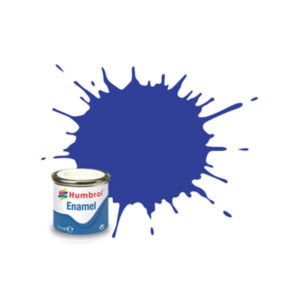 Humbrol 222 Metallic Moonlight Blue 14ml Enamel Tinlet