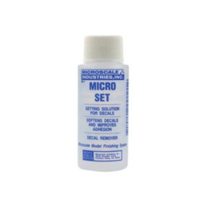 Microscale Micro Set Decal Setting Solution 1oz Bottle