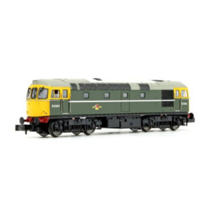 Dapol 2D-001-008 Class 33/0 D6561 BR Green with Full Yellow Ends