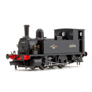 Dapol 4S-018-005 Class B4 0-4-0T 30096 BR Black with Late Crest