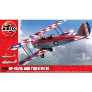Airfix A04104 de Havilland D.H.82a Tiger Moth 1/48 Scale