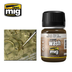 Mig Washes MIG1000 Brown Wash For German Dark Yellow