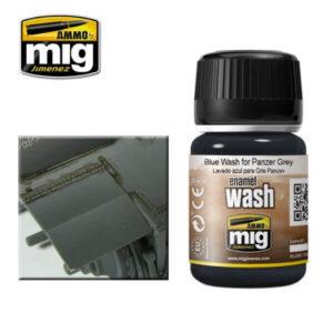 Mig Washes MIG1006 Blue Wash For Panzer Grey
