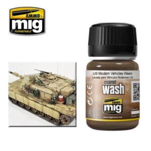 Mig Washes MIG1007 US Modern Vehicles Wash