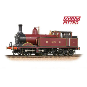 Bachmann 31-740SF Class 1P 1273 Midland Railway Crimson DCC Sound Fitted