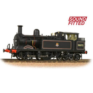 Bachmann 31-742SF Class 1P 58072 BR Black with Early Crest DCC Sound Fitted