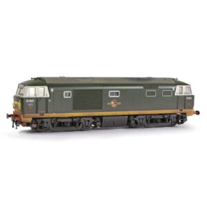 EFE Rail E84002 Class 35 Hymek D7021 BR Two Tone Green with Small Yellow Panel Weathered