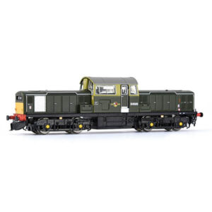 EFE Rail E84501 Class 17 D8585 BR Green with Small Yellow Panels