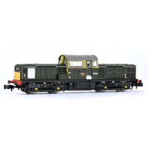 EFE Rail E84502 Class 17 D8594 BR Green with Small Yellow Panels