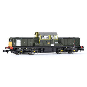 EFE Rail E84503 Class 17 D8560 BR Green with Small Yellow Panels