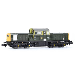 EFE Rail E84504 Class 17 8601 BR Green with Full Yellow Ends