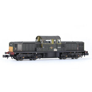 EFE Rail E84508 Class 17 D8511 BR Green with Small Yellow Panels Weathered