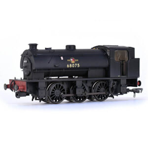 EFE Rail E85001 J94 Saddle Tank 68075 BR Black with Late Crest Weathered