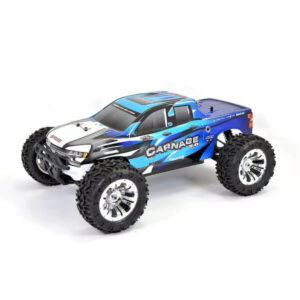 FTX 5537B Carnage 2.0 1/10 4WD RTR Brushed Electric Truck Blue