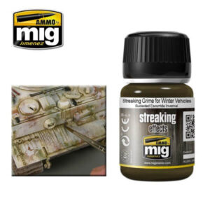 Mig Washes MIG1205 Streaking Grime For Winter Vehicles
