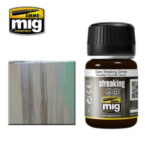 Mig Washes MIG1206 Dark Streaking Grime