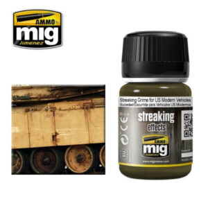 Mig Washes MIG1207 Streaking Grime For Modern US Vehicles