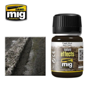 Mig Nature Effects MIG1402 Fresh Mud