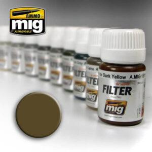 Mig Filters MIG1510 Tan For Three Tone Camo
