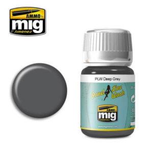 Mig Panel Line Wash MIG1602 Deep Grey