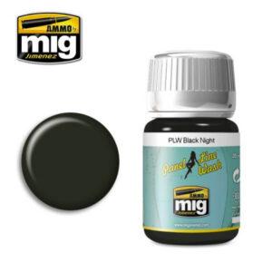 Mig Panel Line Wash MIG1611 Black Night