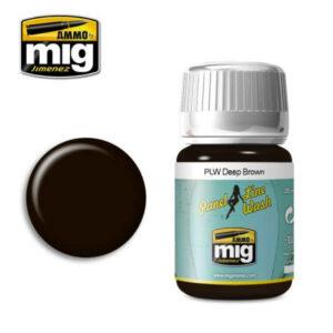 Mig Panel Line Wash MIG1618 Deep Brown