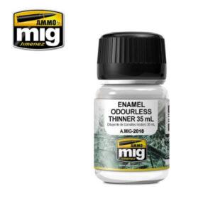 Mig MIG2018 Enamel Odourless Thinner