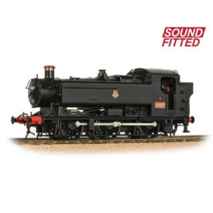 Bachmann 35-026SF Class 94xx Pannier Tank 9487 BR Black with Early Crest DCC Sound Fitted
