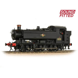 Bachmann 35-027SF Class 94xx Pannier Tank 9479 BR Black with Late Crest DCC Sound Fitted