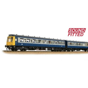 Bachmann 35-501SF Class 117 3 Car DMU BR Blue and Grey DCC Sound Fitted