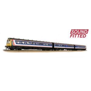 Bachmann 35-502SF Class 117 3 Car DMU Network South East DCC Sound Fitted