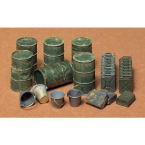 Tamiya 35026 Jerry Can Set 1/35 Scale