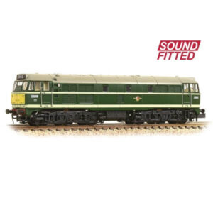 Graham Farish 371-111ASF Class 31 D5616 BR Green with Small Yellow Panel DCC Sound Fitted