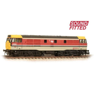 Graham Farish 371-113SF Class 31 97204 BR RTC Grey DCC Sound Fitted