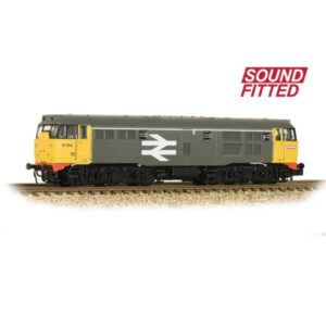 Graham Farish 371-135SF Class 31 Refurbished 31154 BR Original Railfreight DCC Sound Fitted