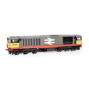 EFE Rail E84005 Class 58 58011 BR Railfreight Red Stripe with Faded Paint & Logos
