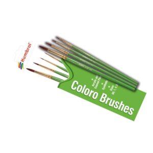 Humbrol AG4050 Coloro Brush Set