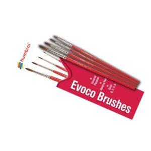 Humbrol AG4150 Evoco Brush Set
