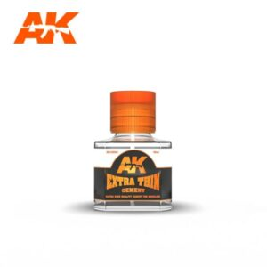 AK Interactive AK12002 Extra Thin Cement 40ml Bottle