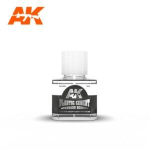 AK Interactive AK12003 Plastic Cement Standard 40ml Bottle
