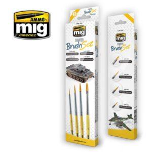 Mig Brushes MIG7602 Starter Brush Set