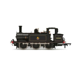 Hornby R30008X Class A1 (Terrier) 32640 BR Lined Black with Early Crest DCC Fitted