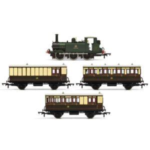 Hornby R3960 Class A1 (Terrier) No.5 'Portishead' GWR Shirtbutton Train Pack